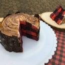 One-Box Lumberjack Cake