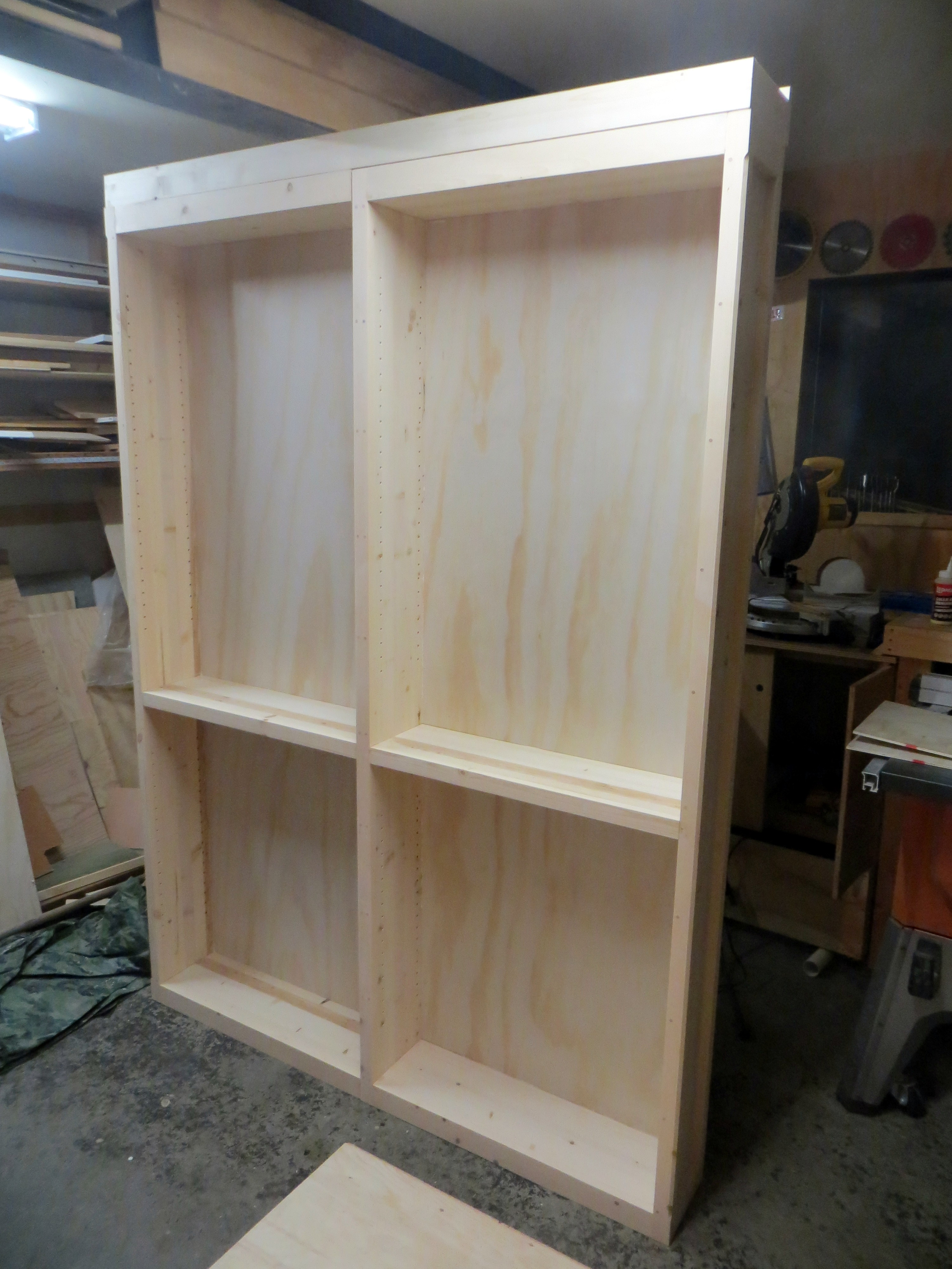 Picture of Attach Plywood Backs