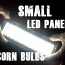 Small LED panel from old bulbs