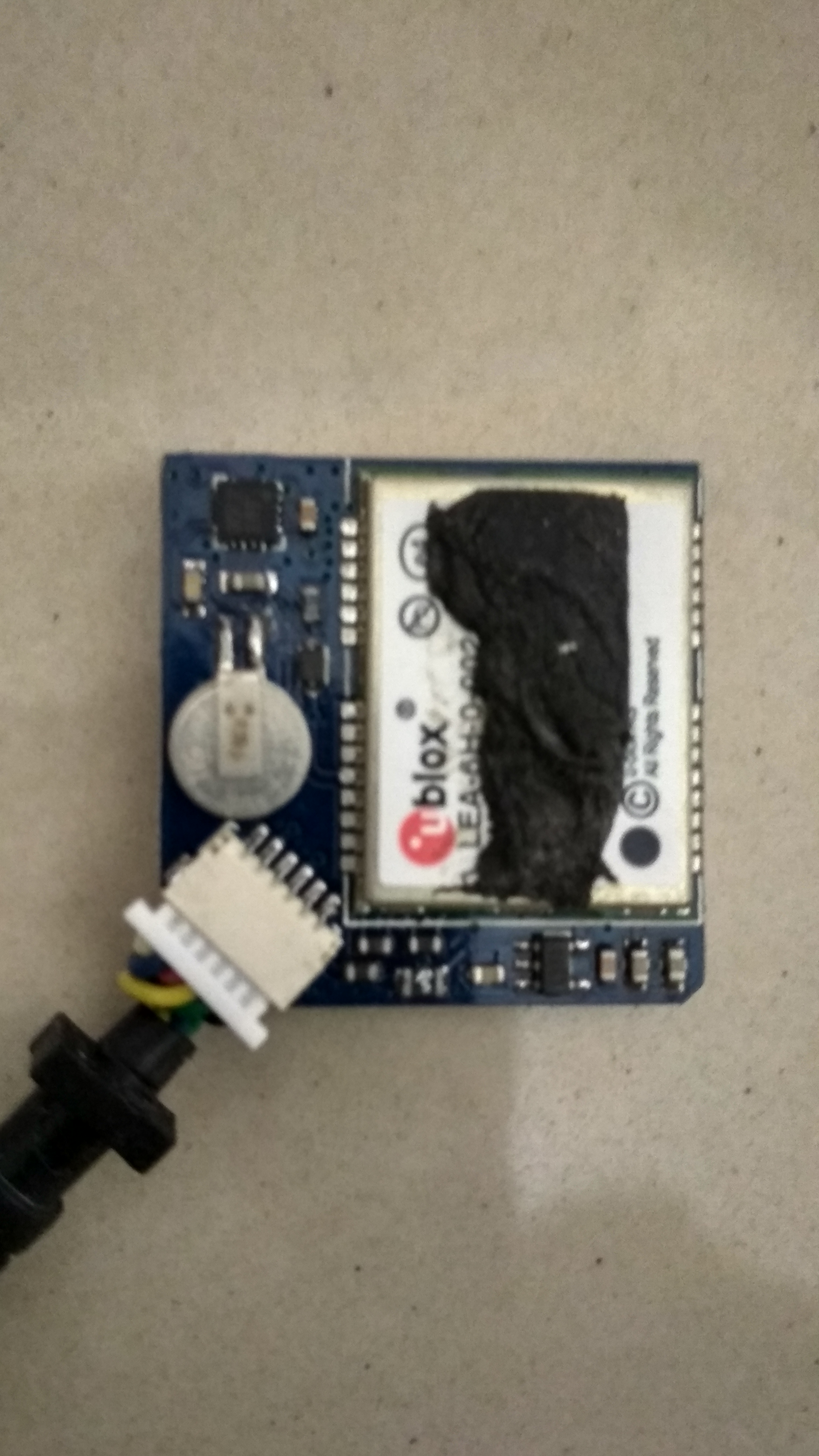 Picture of Ublox LEA 6h 02 GPS Module With Arduino and Python