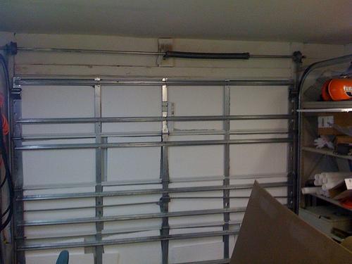 Picture of Garage Door Whiteboard