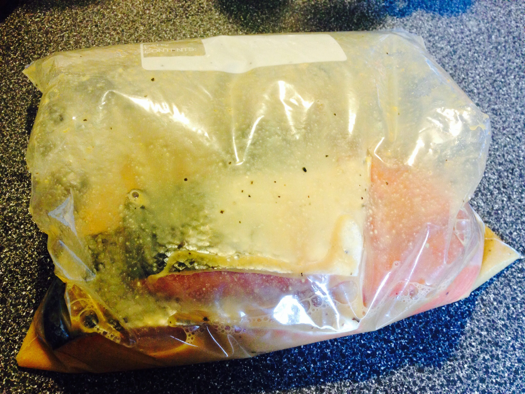 Picture of Marinate the Salmon