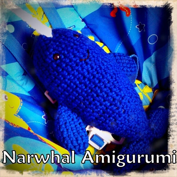 Red Heart Ned and Norman Crochet Narwhal | Yarnspirations | 612x612