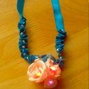 Twinkling LED Ribbon Necklace.