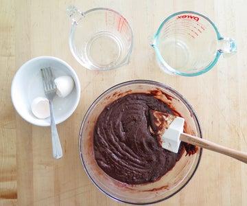 Mix Up Brownies