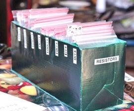 Resistor storage