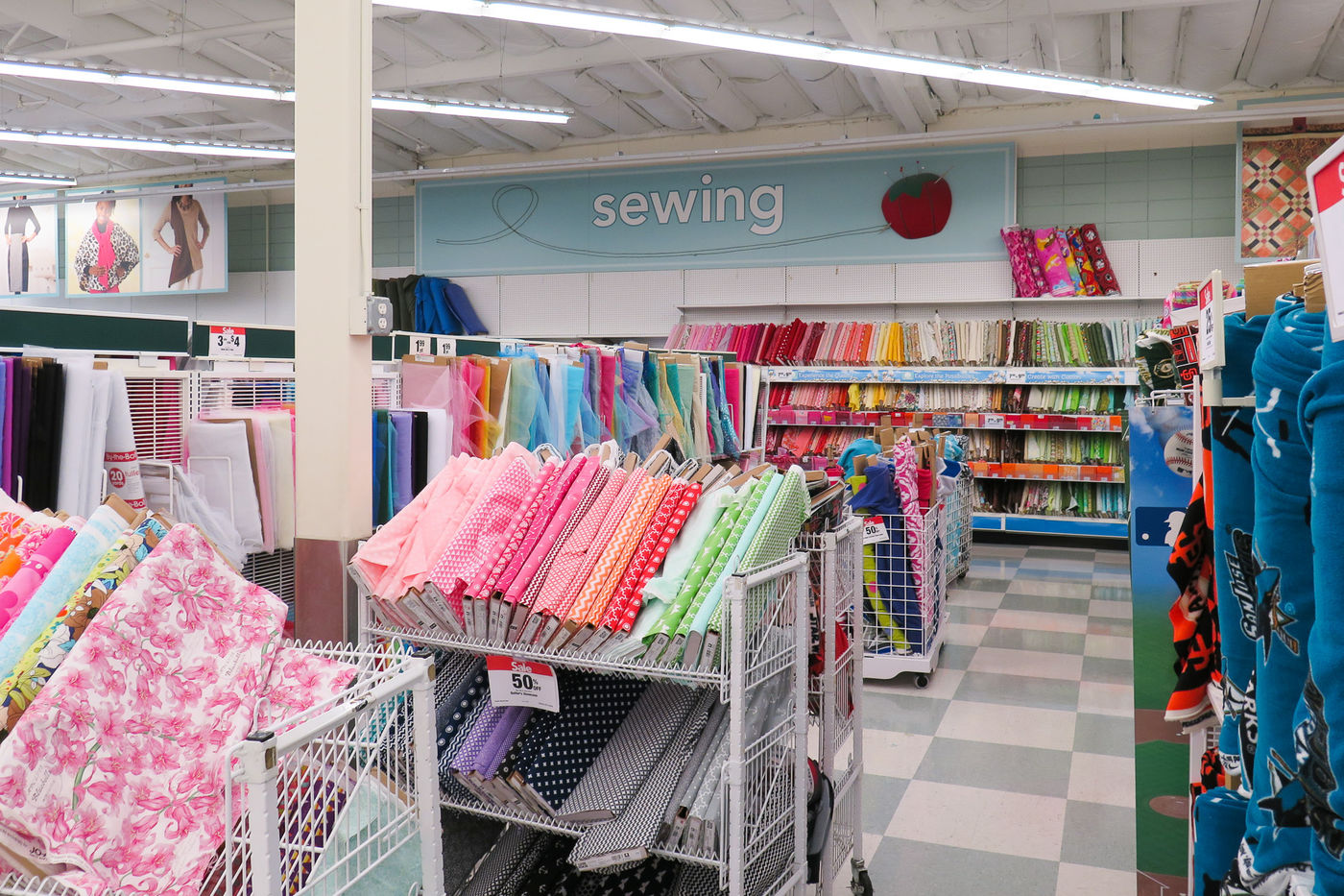 Shopping for Fabric