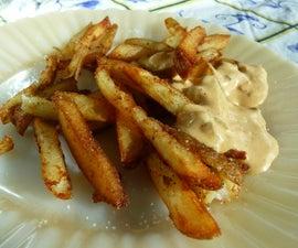Fabulous, Crispy Half-Baked French Fries