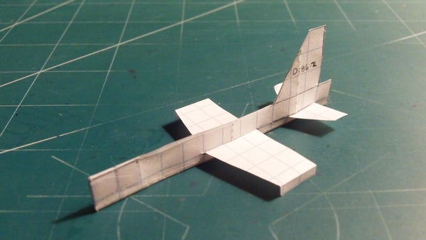 How to Make the Super Manx Paper Airplane