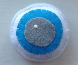 Giant Felt Eyeball