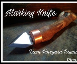 Marking Knife, How to Make