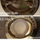 LED hack to replace Halogen Lamp bulb