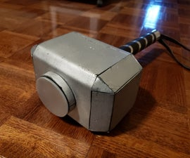 Mjolnir - With Adafruit Circuit Playground