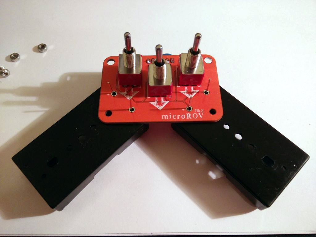 Picture of Attach the Battery Holders