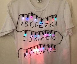 Stranger Things LED T-Shirt