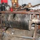 Abrasive parts tumbler