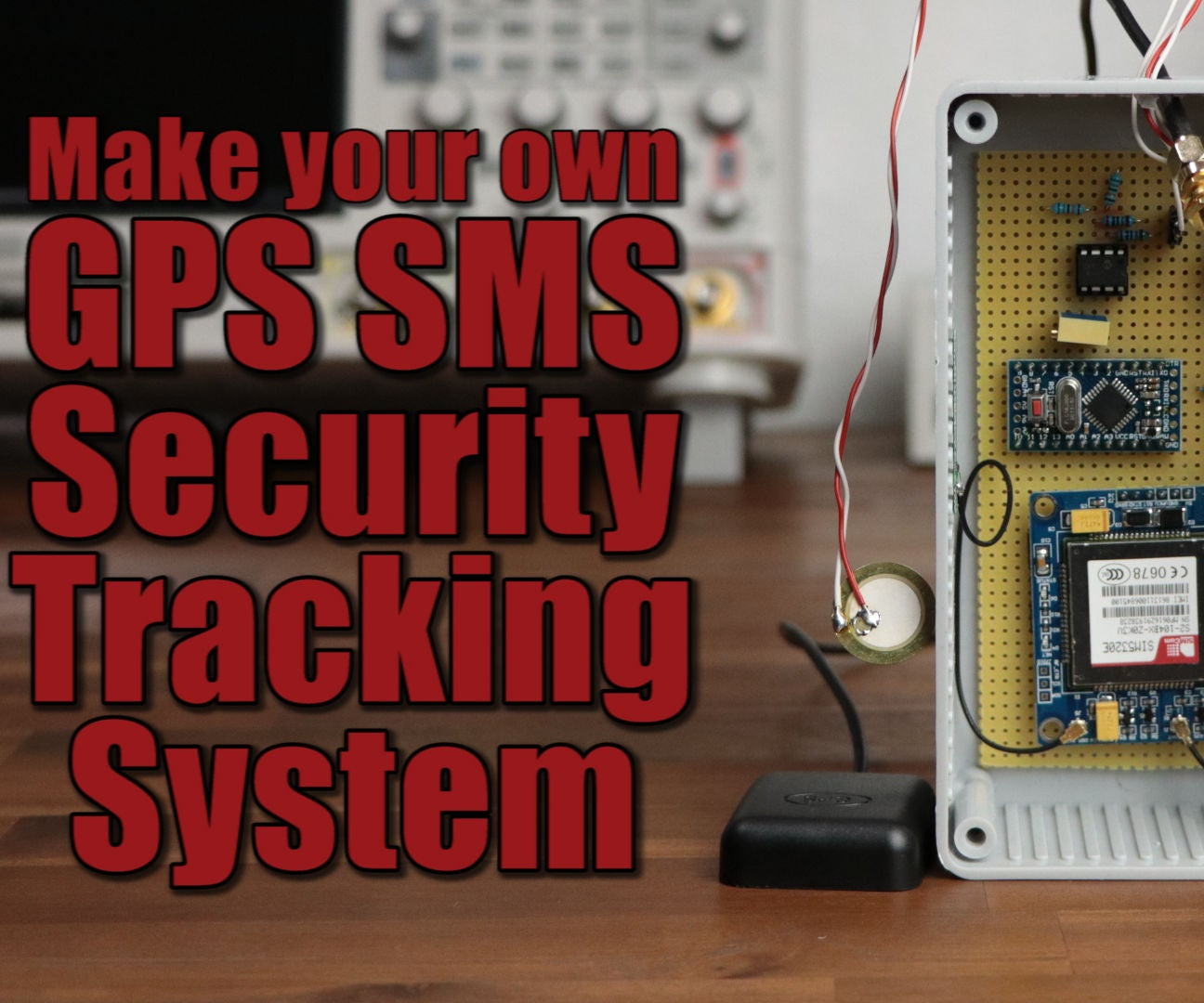 Make Your Own Gps Sms Security Tracking System 5 Steps With Pictures Download Image Led Strobe Circuit Needs More Current Pc Android