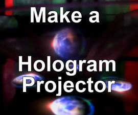 Make a hologram projector for your phone