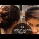 DIY: Summer Evening Updo!
