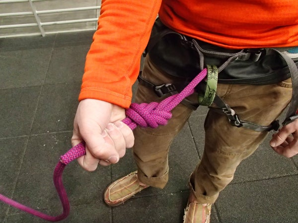 A Climber's Guide to the Figure Eight Follow Through Knot