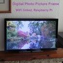 Digital Photo Picture Frame, WiFi Linked – Raspberry Pi
