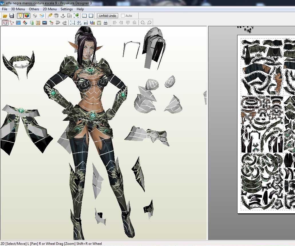 How to Make Paper Craft From a Game or 3d Model: 5 Steps