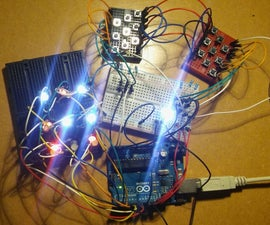 Tic Tac Toe on the Arduino With Multiplexing