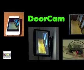 Old PC Accessories + Raspberry PI = DoorCam & surveillance Kit **updated 2016**