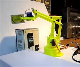 Arduino 3D Printed Robotic Arm
