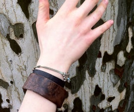 Bent Lamination Bracelet