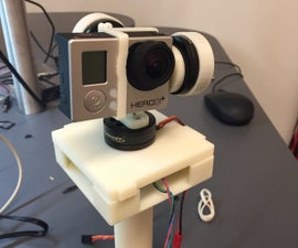 3D Printed 3-axis GoPro Gimbal