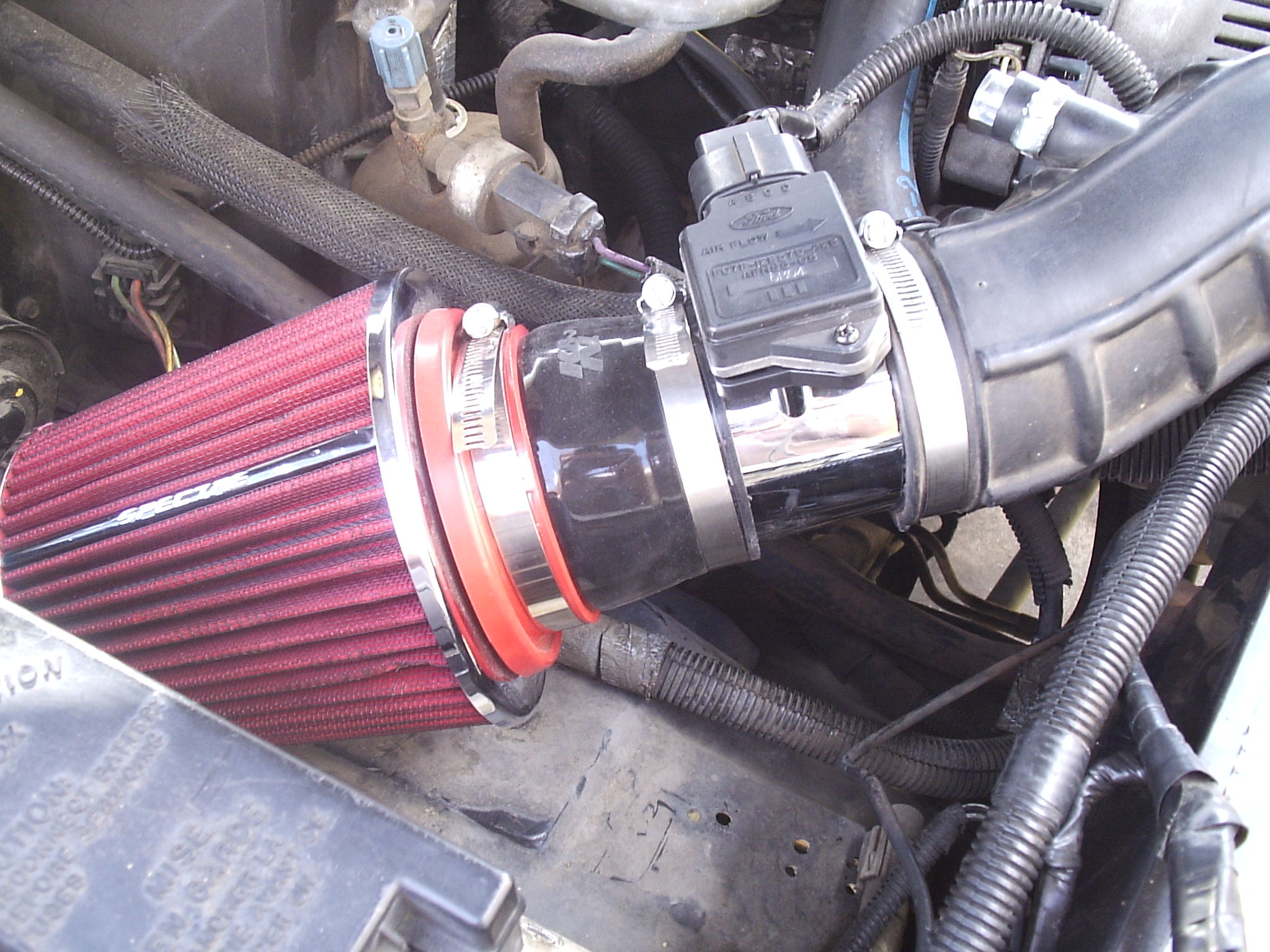 Add Horsepower and Save Gas With a Performance Filter System: 7 Steps