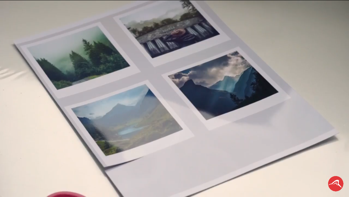Picture of Save the File As a Jpeg, Now Open a New Project A4 Paper Size and Put Your Polaroid's Onto This Page So U Have Four on One Page!! Then Simply Press Print!
