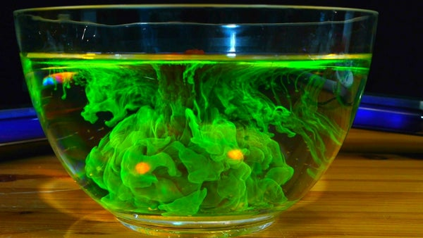 How to Make Fluorescein From Highlighter Markers