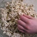Candy Cane Chocolate Popcorn Crunch