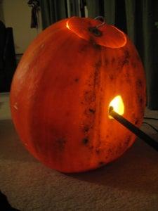 Step 6: Light the Pumpkin