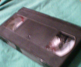 A VHS Pencil Case