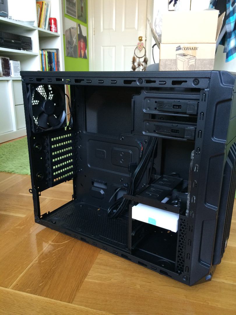 Picture of Build Process and Challenges - Case and Power Supply