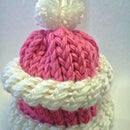 Peppermint Puff Hat