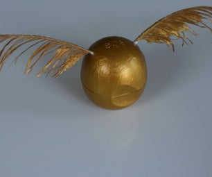 Harry Potter Golden Snitch EOS