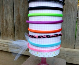 Up-Cycled Oatmeal Container to a Headband Holder
