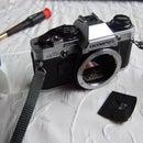 Olympus OM10 sticky shutter repair