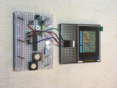 Prototype I2C Gamepad