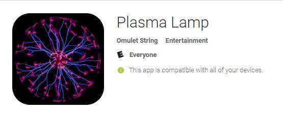 Picture of Plasma Lamp