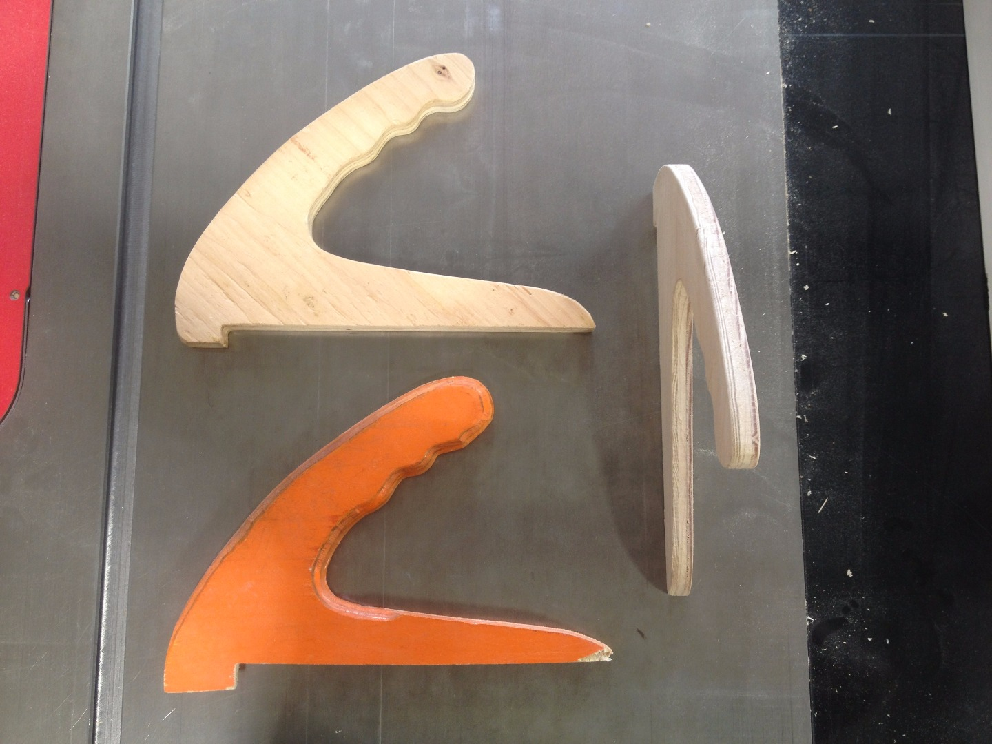 Picture of How to CNC Route Woodshop Push Sticks