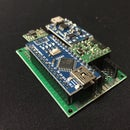 Small footprint Arduino Nano with USB charging circuit (Li Ion or LIPO) that can turn itself off (soft latch power)