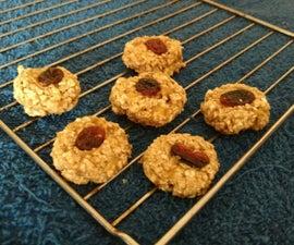 Oatmeal Raisin 3 Ingredient cookie