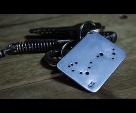 Scorpius Constellation Keychain