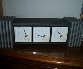 A Dieselpunk Desktop Clock