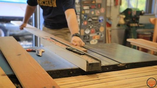 Lumber & Rough Sizing